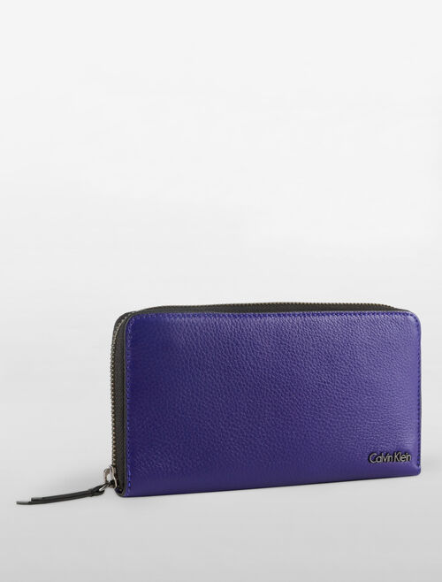 CALVIN KLEIN WORKMAN LONG ZIP AROUND WALLET