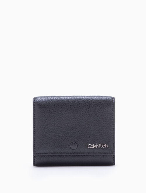 CALVIN KLEIN WORKMAN MEDIUM TRIFOLD WALLET