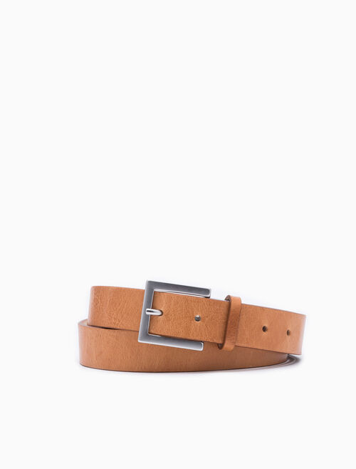 CALVIN KLEIN THIN SQUARE BUCKLE BELT