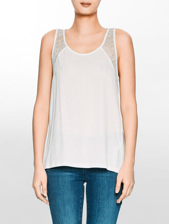 CALVIN KLEIN LIMA SLEEVELESS TOP