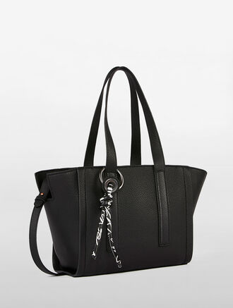 CALVIN KLEIN ZIP CITY SATCHEL