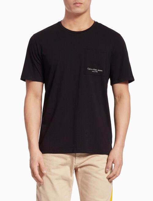 CALVIN KLEIN LOGO POCKET 반소매 티셔츠