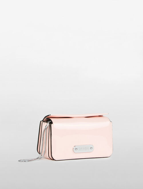 CALVIN KLEIN FLARED MICRO BOX CLUTCH