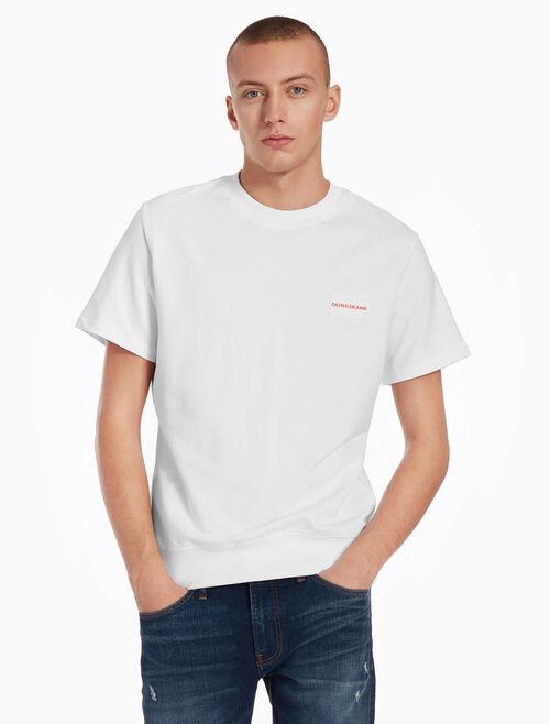CALVIN KLEIN INSTITUTIONAL BOX LOGO 티셔츠