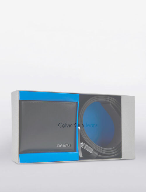 CALVIN KLEIN BELT & WALLET GIFT SET