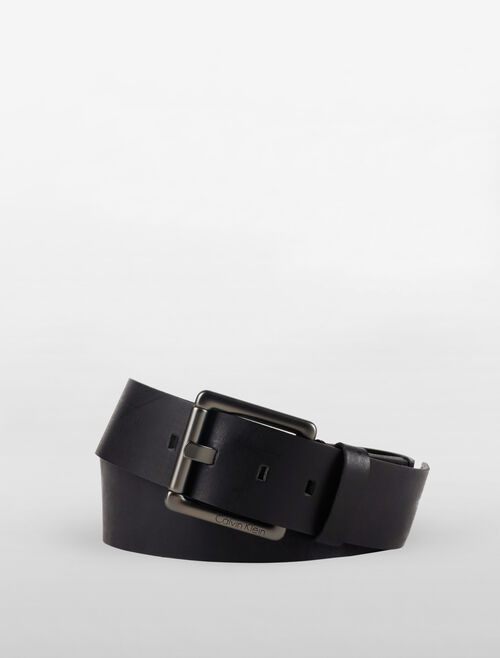 CALVIN KLEIN HEAVY STITCH BELT