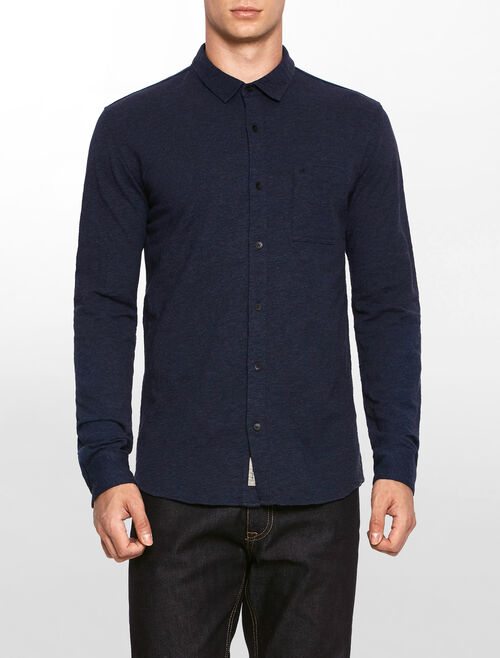 CALVIN KLEIN WERSEY LONG SLEEVES SHIRT