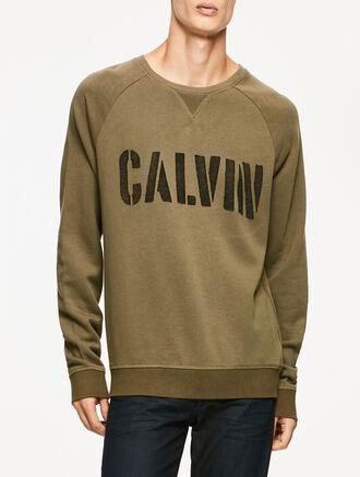 CALVIN KLEIN JAIRUS PULLOVER SWEATSHIRTS