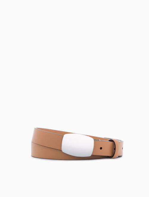 CALVIN KLEIN SMALL COWBOY BUCKLE BELT