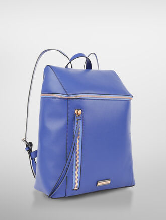 CALVIN KLEIN SIMPLE STITCH SEQUARE BACKPACK