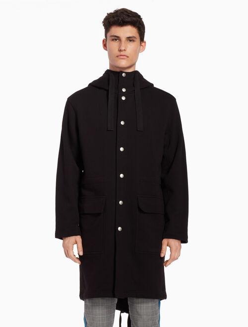 CALVIN KLEIN Hooded sweatshirt jacket