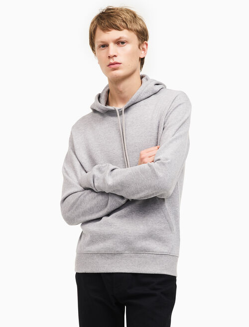 CALVIN KLEIN french terry hooded sweatshirt