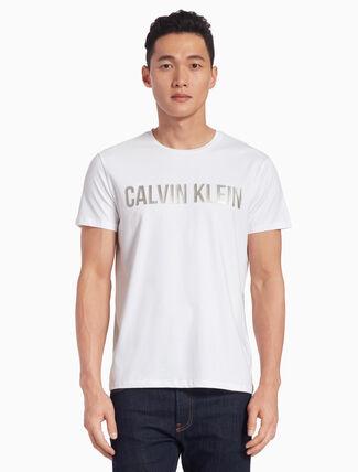 CALVIN KLEIN METALLIC LOGO TEE