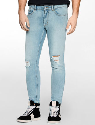 CALVIN KLEIN OLD CREEK SUPER SKINNY JEANS