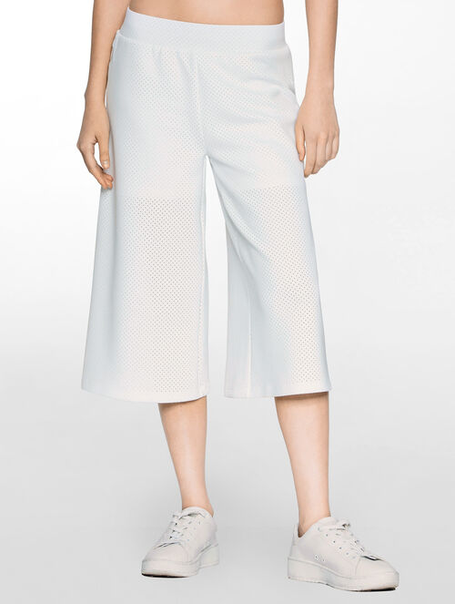 CALVIN KLEIN PERFORATED TAPE CULOTTE