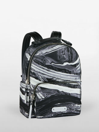 CALVIN KLEIN ENGINEERED NYLON MICRO BACKPACK