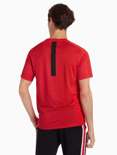 CALVIN KLEIN 로고 크루넥 티셔츠