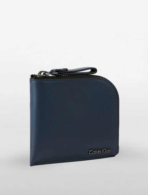 CALVIN KLEIN AIDEN SHORT ZIP AROUND WALLET