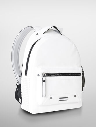 CALVIN KLEIN INDUSTRIAL STUDSTUD CANVAS SMALL BACKPACK