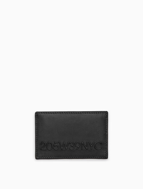 CALVIN KLEIN 205W39NYC EMBOSSED SMALL CARD CASE