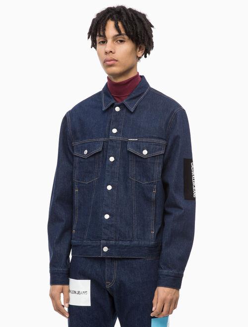 CALVIN KLEIN MODERN 클래식 트럭커 재킷