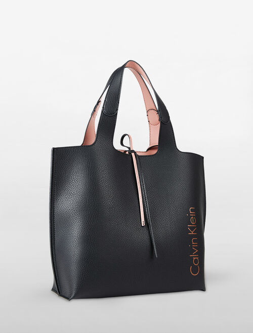 CALVIN KLEIN ULTRA LIGHT REVERSIBLE CITY TOTE