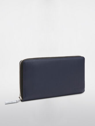 CALVIN KLEIN MEN'S TRAVEL TRAVEL ZIP WALLET