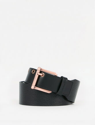 CALVIN KLEIN DOUBLE PIN BUCKLE BELT