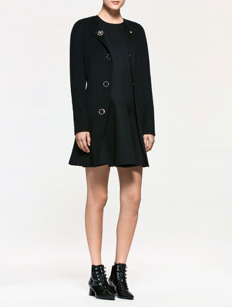 CALVIN KLEIN WOOL CASHMERE DRESS COAT