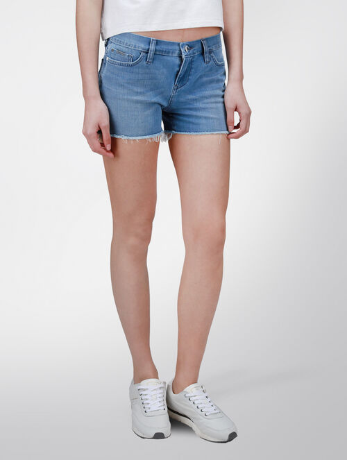 CALVIN KLEIN FACTORY BLUE DENIM SHORTS