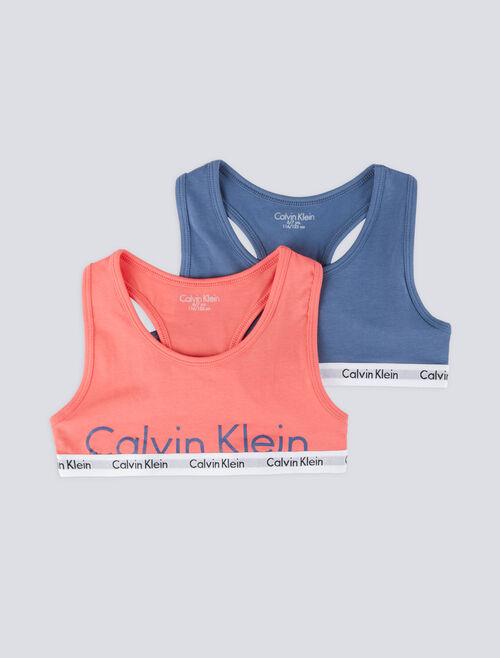 CALVIN KLEIN LOGO MANIA 無鋼圈內衣 2 件組