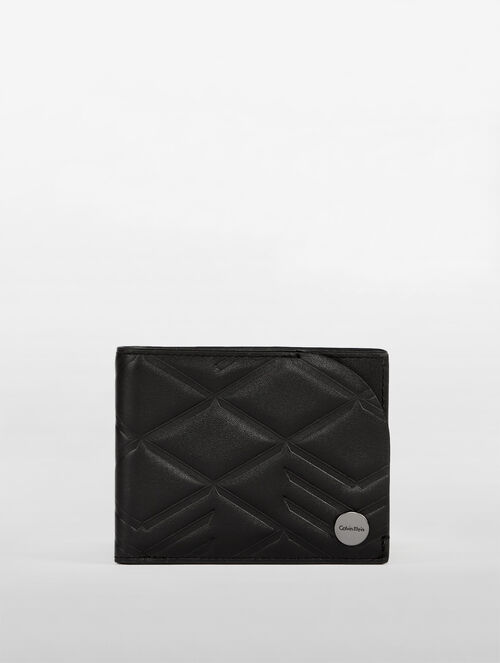 CALVIN KLEIN CITY GRID AMPLIFIED BILLFOLD