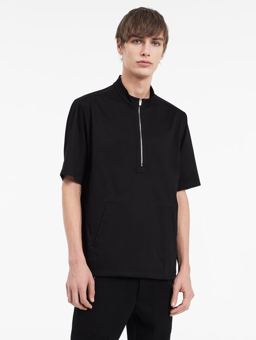 CALVIN KLEIN INTERLOCK ZIP TOP