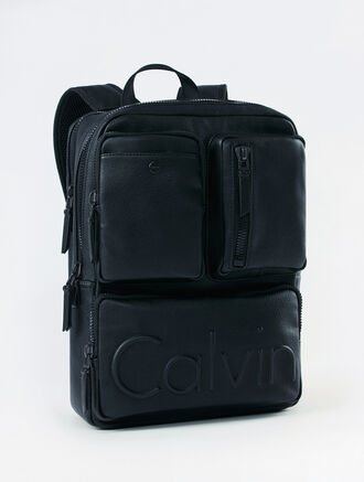 CALVIN KLEIN IMPACT SQUARE 2ZIP BACKPACK