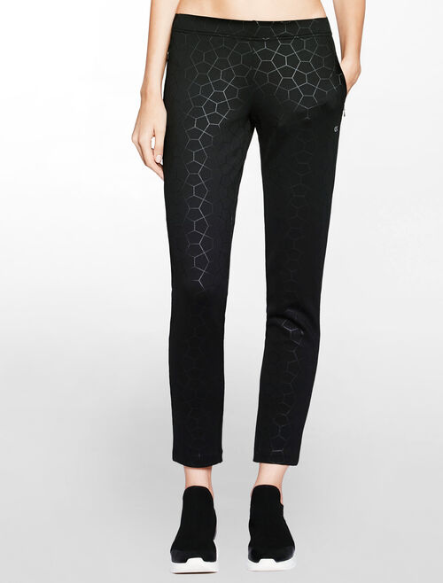 CALVIN KLEIN EMBOSS HEXAGON PANTS