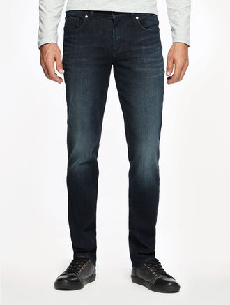 CALVIN KLEIN SODA BLUE DARK WASH BODY JEANS
