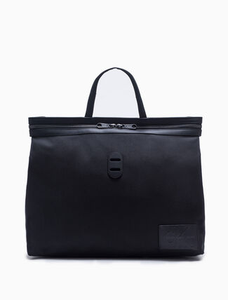 CALVIN KLEIN MONOGRAM BADGE PACKABLE TOTE