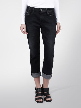 CALVIN KLEIN ROYAL BLACE SLIM BOYFRIEND JEANS