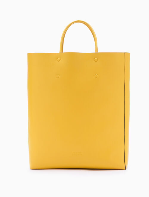 CALVIN KLEIN ENVELOPED SQUARE SHOPPING TOTE