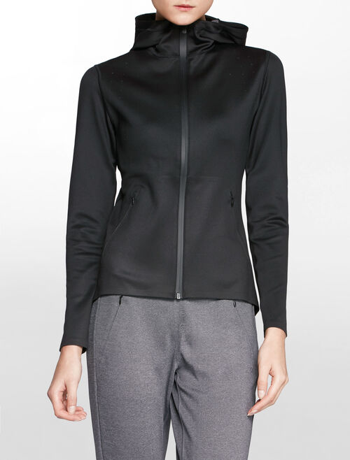 CALVIN KLEIN BONDING WOVEN JACKET