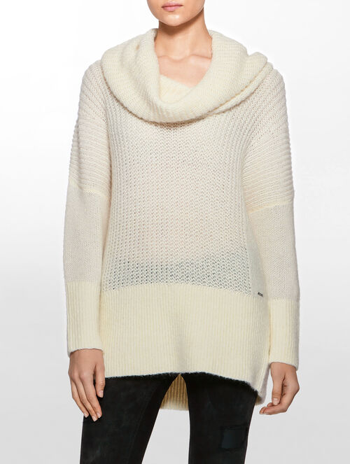 CALVIN KLEIN SERA FN LONG SLEEVES SWEATER