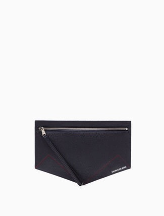 CALVIN KLEIN MEDIUM SADDLE POUCH
