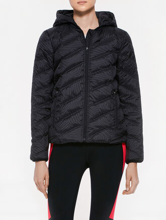 CALVIN KLEIN DOWN JACKET WITH REMOVABLE HOOD