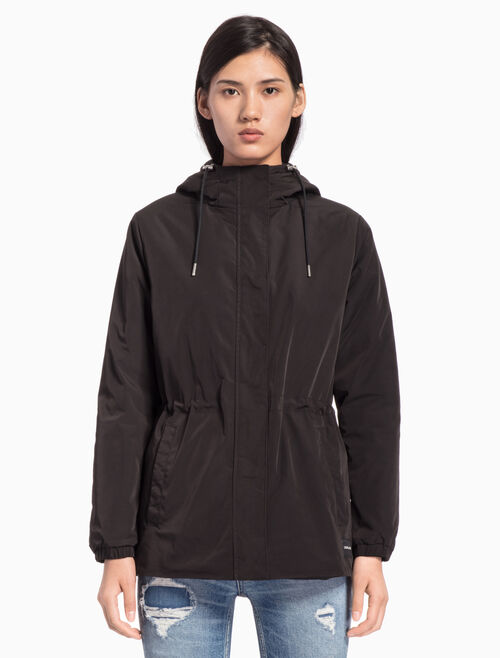 CALVIN KLEIN PADDED NYLON WINDBREAKER JACKET
