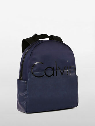 CALVIN KLEIN SLIM ROUND TOP BACKPACK