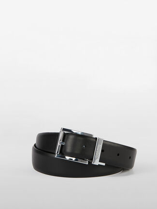 CALVIN KLEIN BUSINESS REVERSIBLE BUCKLE WITH KEEPER