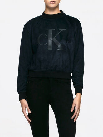 CALVIN KLEIN HOSHI MOCK NK HEAVY WEIGHT KNIT LONG SLEEVES