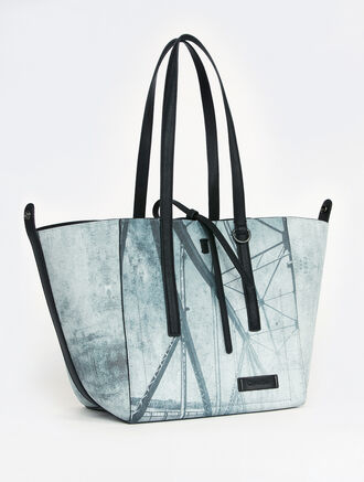CALVIN KLEIN ULTRA LIGHT DARCY REVERSIBLE METRO TOTE