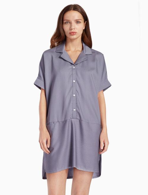 CALVIN KLEIN TENCEL 슬립 셔츠