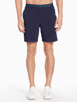 CALVIN KLEIN DUAL TONED SWEAT SHORTS